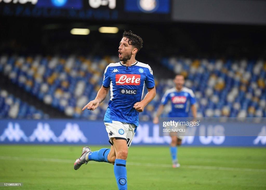 SSC Napoli v FC Internazionale - Coppa Italia: Semi-Final Second Leg : News Photo
