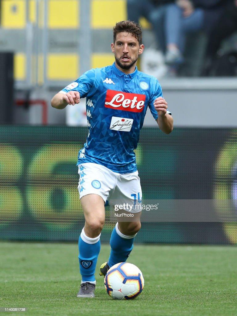 Frosinone v Napoli - Serie A : News Photo