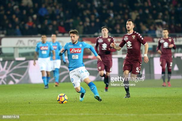 Dries Mertens of Ssc Napoli in action during the Serie A football match between Torino Fc and Ssc Napoli Ssc Napoli wins 31 over Torino Fc