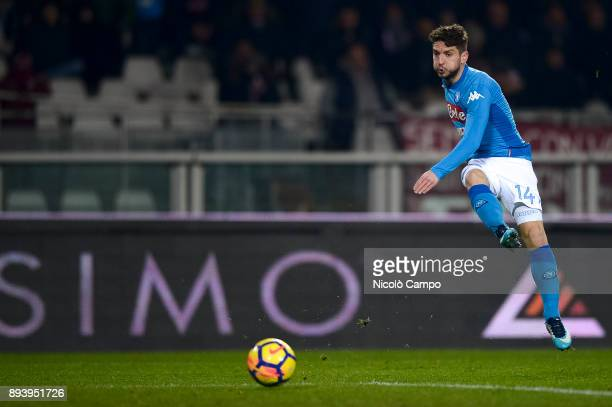 Dries Mertens of SSC Napoli in action during the Serie A football match between Torino FC and SSC Napoli SSC Napoli won 31 over Torino FC