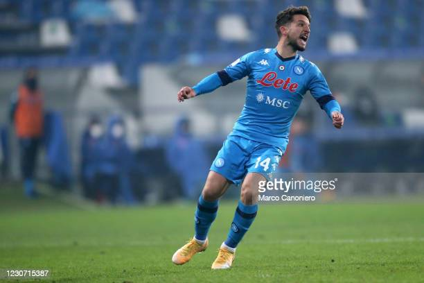 Dries Mertens of Ssc Napoli looks on during the Italian Supercup final match between Juventus Fc and Ssc Napoli. Juventus Fc wins 2-0 over Ssc Napoli.