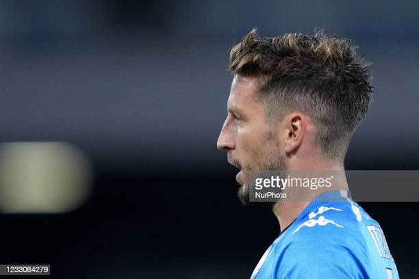 Dries Mertens of SSC Napoli looks on during the Serie A match between SSC Napoli and Hellas Verona at Stadio Diego Armando Maradona, Naples, Italy on...