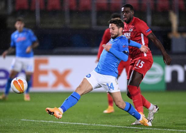 NLD: AZ Alkmaar v SSC Napoli: Group F - UEFA Europa League