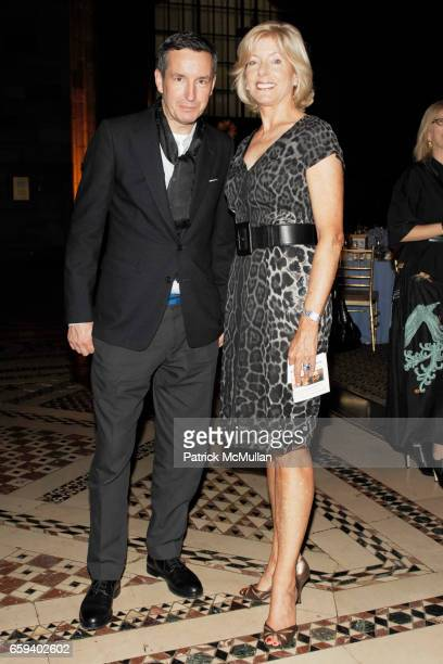 Dries van Noten and Liz Peek attend The Couture Council Award for Artistry of Fashion Honoring DRIES VAN NOTEN at Cipriani 42nd Street on September 9...