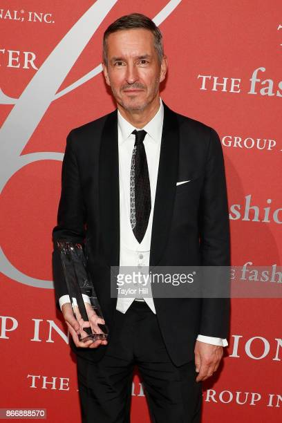 Dries Van Noten attends the 2017 Night Of Stars Gala at Cipriani Wall Street on October 26 2017 in New York City
