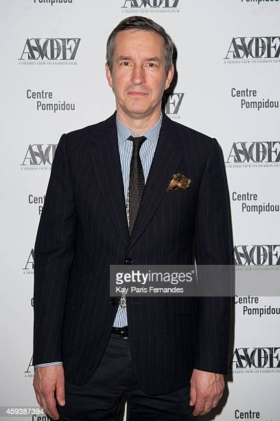 Dries Van Noten attends the ASVOFF 7 Opening Ceremony At Beaubourg on November 21 2014 in Paris France