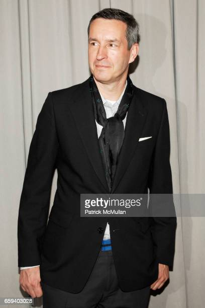 Dries van Noten attends The Couture Council Award for Artistry of Fashion Honoring DRIES VAN NOTEN at Cipriani 42nd Street on September 9, 2009 in...