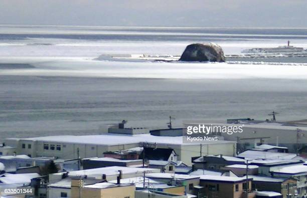 Drift ice from the Sea of Okhotsk reached the city of Abashiri on Japan's northernmost main island of Hokkaido on Feb 2 20 days earlier than in the...