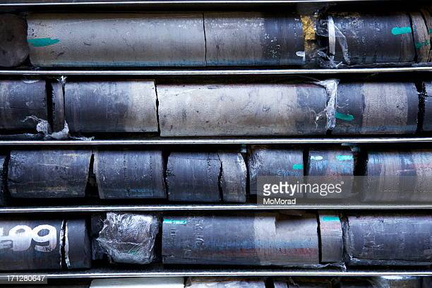drilled core samples - core stock pictures, royalty-free photos & images