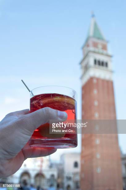drink a spritz on San Marco Square