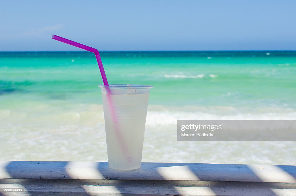 Drink, Cayo Coco, Cuba. : Stock Photo
