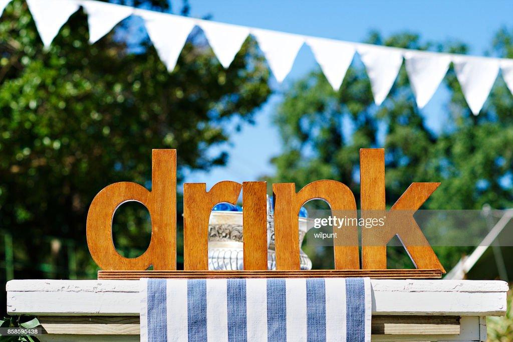 drink  : Stock-Foto