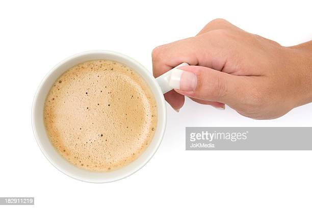 Drinking a Cup of Coffee