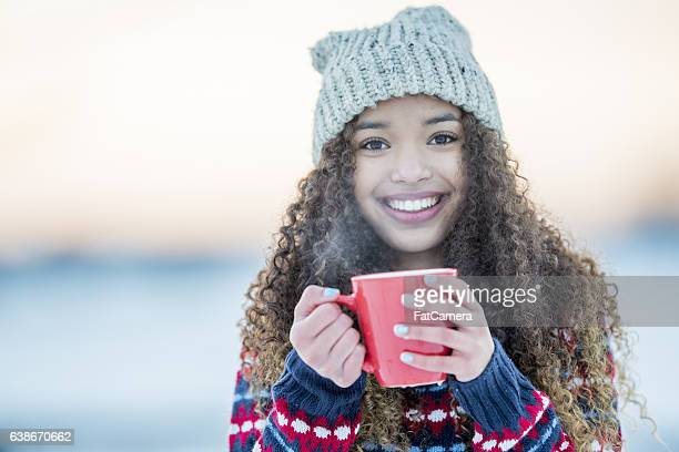 Drinking Cocoa on a Winter Evening