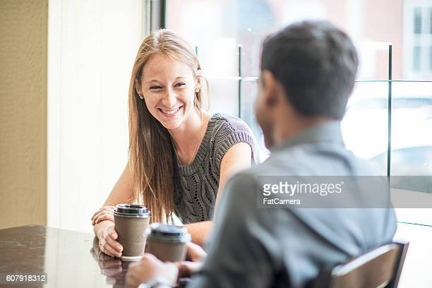 Drinking Coffee on a First Date