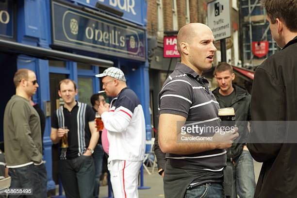 drinking culture, united kingdom - chav stock photos and pictures