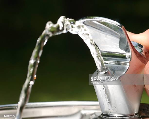 噴水水飲器です。
