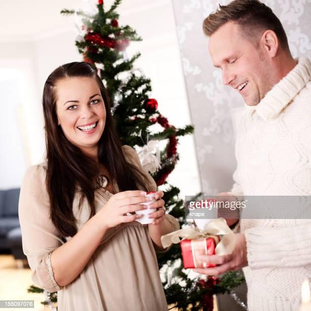 Drinking glögg on christmas