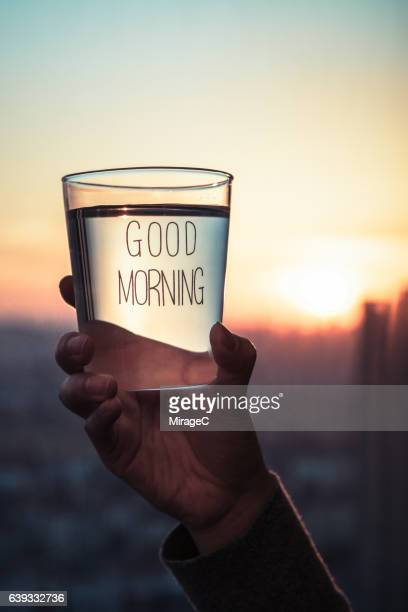 A Drinking Glass of Water in the Morning