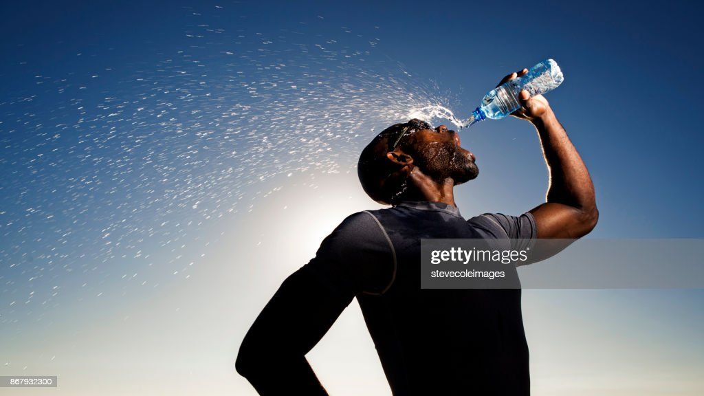 Drinking Water : Stock Photo