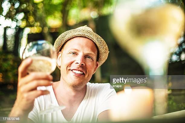 Trinken Weißwein