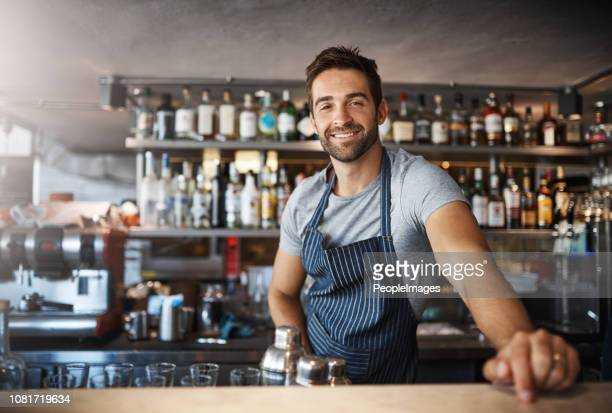 drinks on me - bartender stock pictures, royalty-free photos & images