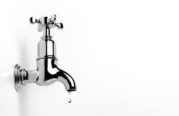 Dripping Tap With Copy Space Wall Art