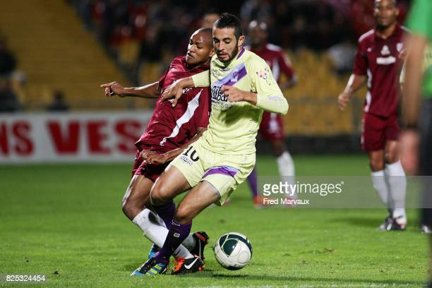 Driss FETTOUHI - - Metz / Istres - 9e journee Ligue 2,