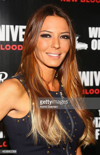Drita D'Avanzo attends Mob Wives Season 4 premiere at Greenhouse on December 5 2013 in New York City