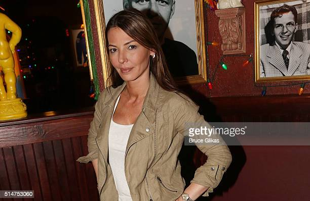 Drita D'Avanzo promotes the VH1 Series Finale of Mob Wives at Buca di Beppo Times Square on March 10 2016 in New York City