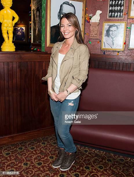 Drita D'Avanzo visits Buca di Beppo on March 10 2016 in New York City