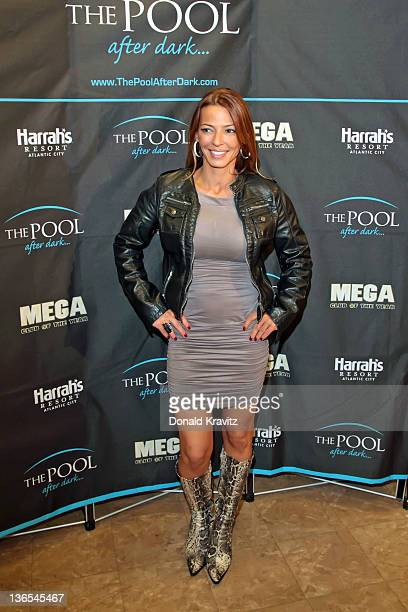 Drita D'Avanzo was also in attendance as Diddy hosts a night at The Pool After Dark at Harrah's Resort on January 7 2012 in Atlantic City New Jersey