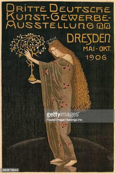 Dritte Deutsche KunstgewerbeAusstellung Dresden 1906 Otto Gussmann