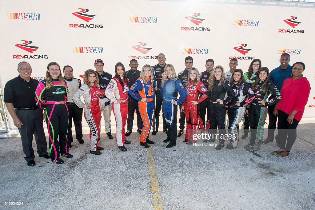 NASCAR Drive for Diversity Developmental Program : News Photo