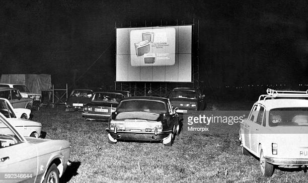 Drive In Cinema, in farmer Swinburne's cow pasture, with silos in the background, cattle mooing and, a bonus for patrons, the chance to buy a bag of...