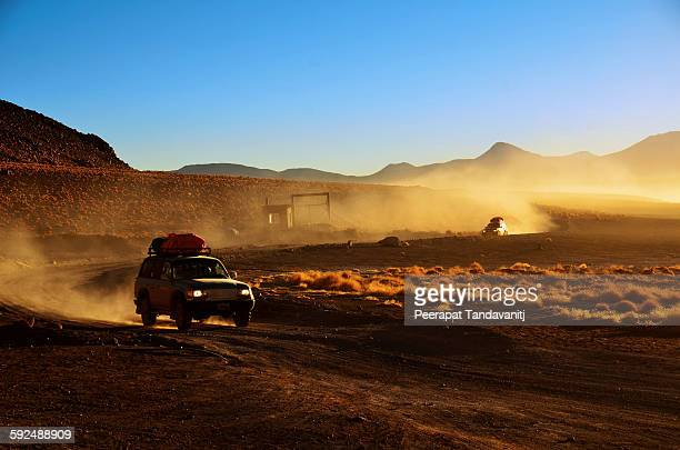 Drive in the dust