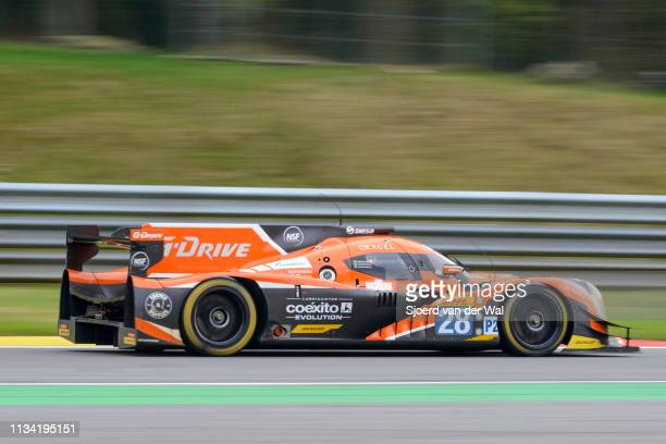 Drive Racing Ligier JS P2Nissan LMP2 race car driven by YACAMAN G DERANI LGONZALEZ R driving on track during the 6 Hours of SpaFrancorchamps race the...