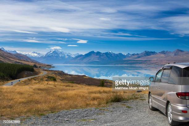 A drive thought Mount Cook park.