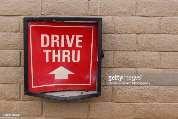 drive thru, las vegas - drive through stock pictures, royalty-free photos & images