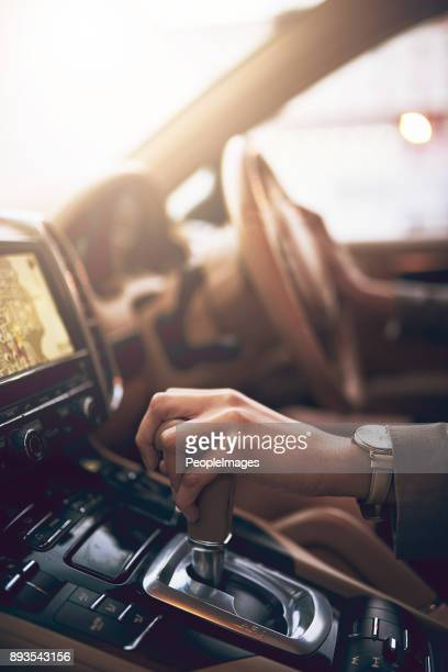 drive towards your ambitions - gearshift stock photos and pictures