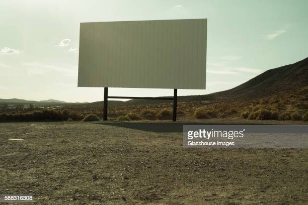 Drive-In Cinema in Desert