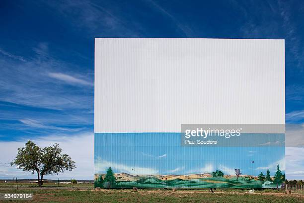 Drive-In Theater in Las Vegas, New Mexico
