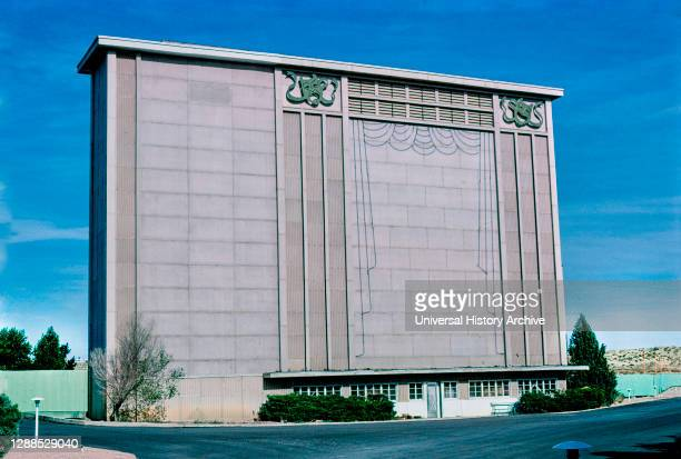 Drive-in Theater, Route 50, Pueblo, Colorado, USA, John Margolies Roadside America Photograph Archive, 1980.