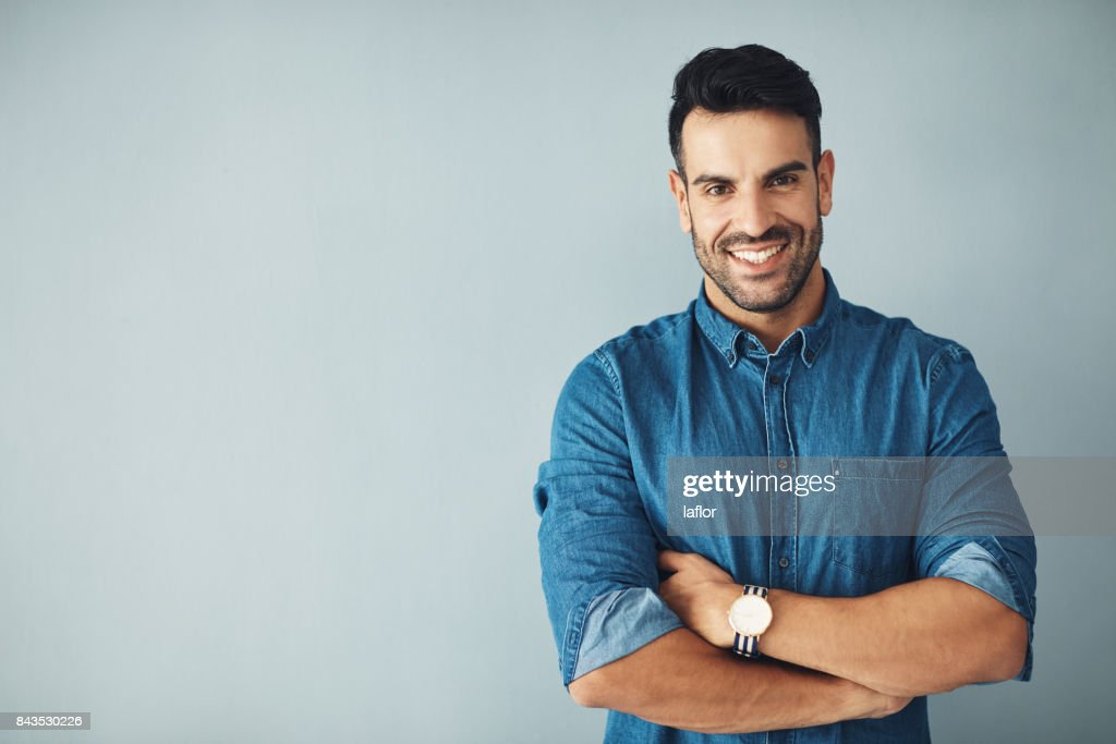 Driven by confidence : Stock Photo