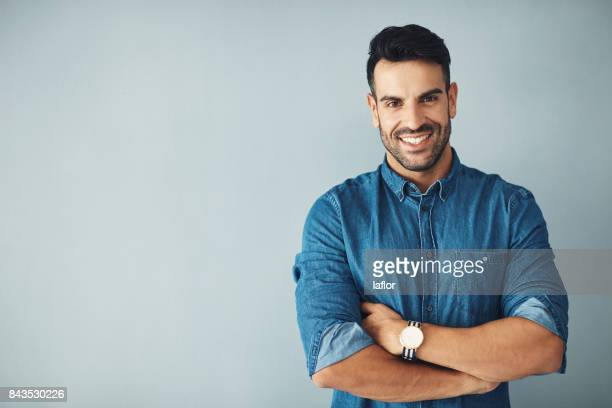 driven by confidence - male model stock photos and pictures