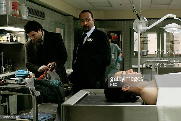 LAW ORDER 'Driven' Episode 5 Air Date Pictured Jeremy Sisto as Detective Cyrus Lupo Jesse L Martin as Detective Ed Green and Elliot Korte as David...