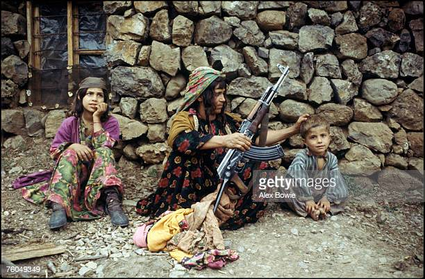 Driven from their ancestral village by Saddam Hussein's troops a Kurdish family is forced to live in the mountains of northern Iraq 12th May 1979
