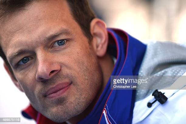Driver Alexander Wurz of Austria and Toyota Racing during the FIA World Endurance Championship 6 Hours of Silverstone race at Silverstone on April...