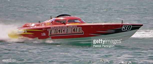 Driver Brett Lee Furshman and throttleman Billy Glueck won the Superboat Extreme Class of the Key West World Championships Key West Florida November...