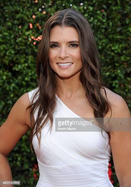 NASCAR driver Danica Patrick attends The 2014 ESPYS at Nokia Theatre LA Live on July 16 2014 in Los Angeles California